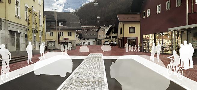 Neugestaltung Linzer-Bundesstraße